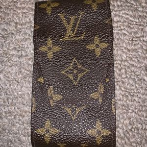 Authentic LV Cigarette Case-Great for Lipgloss!